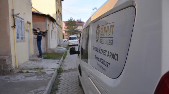 Şuhut Belediyesi Mobil İftar Araçları Görevlerine Başladı.