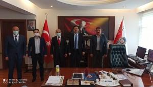 Türk Eğitimsen'den polis teşkilatına ziyaret