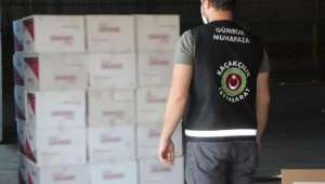 37 Milyon 190 Bin Adet Kaçak Sigara Kağıdı Ele Geçirildi