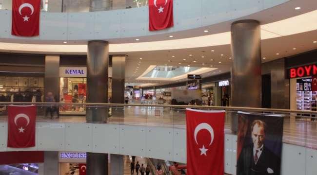 Afyonkarahisar'da Alışveriş merkezlerinde alınan önlemler