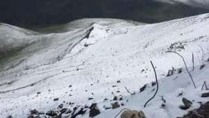 Afyonkarahisar'da kar yağdı