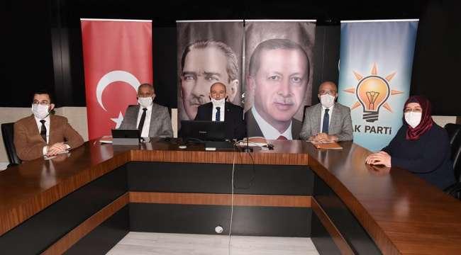 Akparti Genişletilmiş il başkanları toplantısına Afyonkarhisar teşkilatı katıldı