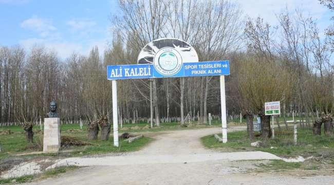 Ali Kaleli Tesisleri Yenileniyor