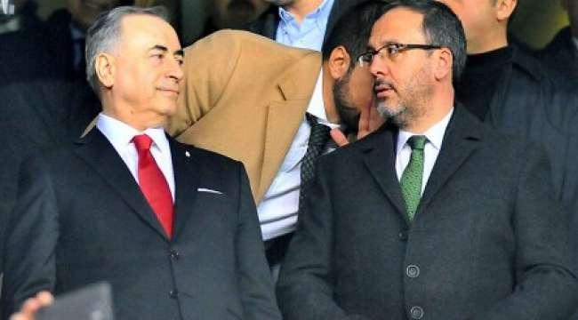 Bakan Kasapoğlu'dan Galatasaray Başkanı Cengiz'e Ziyaret