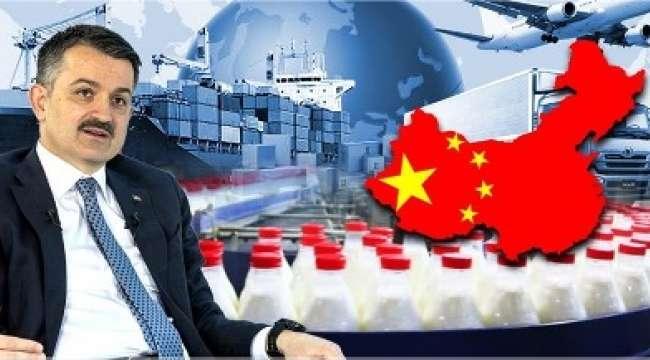 Bakan Pakdemirli : Çin'e gerçekleştirilecek süt ürünleri ihracatının önündeki engeller kalktı