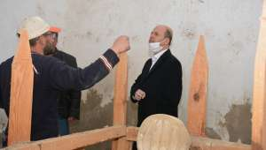 Başkan Bozkurt Seydi Sultan Türbesinin Restorasyonunu Başlattı