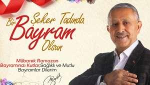 Başkan Zeybek'ten Bayram Mesajı