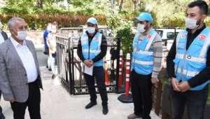 Başkan Zeybek'ten 'Vefa Sosyal Destek Grubu' Tebrik Ziyareti