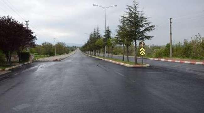 Çay'da Cumhuriyet Bulvarı Hizmete Açıldı