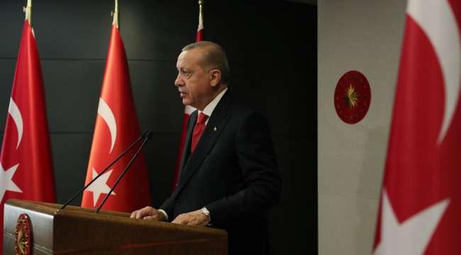 Cumhurbaşkanı Erdoğan açıkladı : Darbelerden medet umanlara milletimiz asla fırsat vermeyecektir