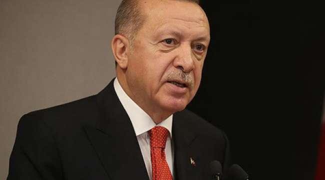 Cumhurbaşkanı Erdoğan : Filistin topraklarının kimseye peşkeş çekilmesine göz yummayacağız