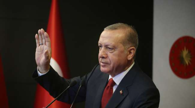 Cumhurbaşkanı Erdoğan : Yargı Reformu Stratejisi çerçevesinde Türkiye'nin mevzuat ve uygulama standartlarını yükseltmenin gayreti içindeyiz
