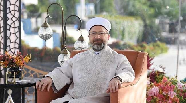 Diyanet İşleri Başkanı Erbaş : 29 Mayıs'ta camilerimize kavuşacağız, hasret ve özlem bitecek
