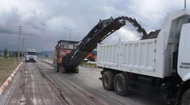 Emirdağ'ın Konya Caddesi yeniliyor
