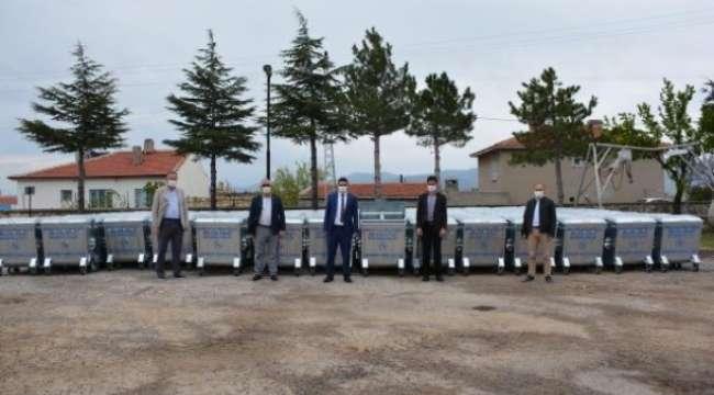 Emirdağ Köylerine 171 Adet Çöp Konteynırı