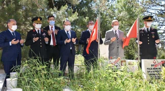 Emniyet Genel Müdürü Aktaş Afyonkarahisarda bir dizi ziyaret gerçekleştirdi