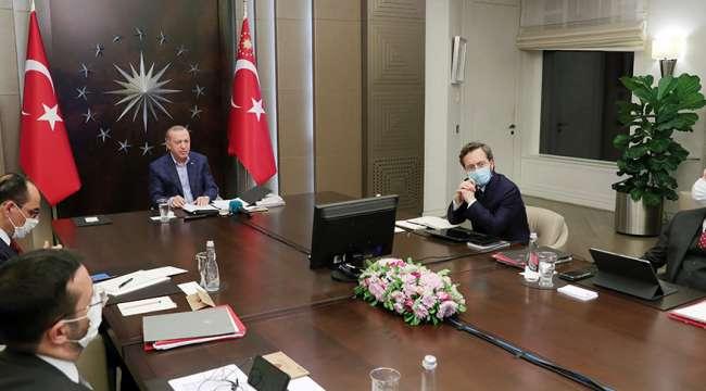 Akparti Genel Başkanı ve Cumhurbaşkanı Erdoğan, İstanbul İl Teşkilatı ile görüştü