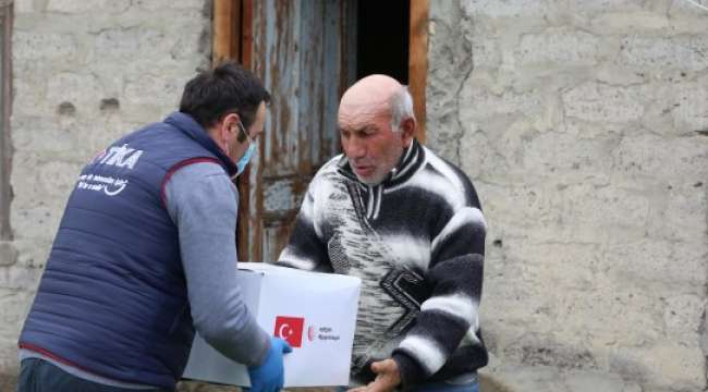 Gürcistan'da 2.500 Aileye Ramazan Yardımı