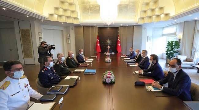 Huber Köşkü'nde güvenlik toplantısı