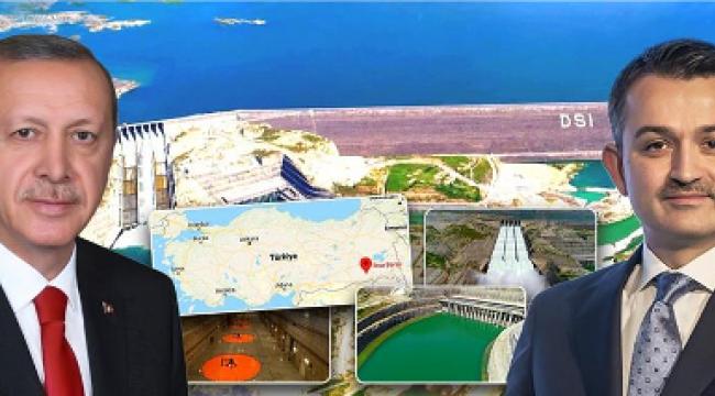 Ilısu Barajı'nda Elektrik Üretimi Yarın Başlıyor