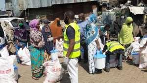 Kenya'da Karantina Altındaki Mahalleye İlk Yardım TİKA'dan