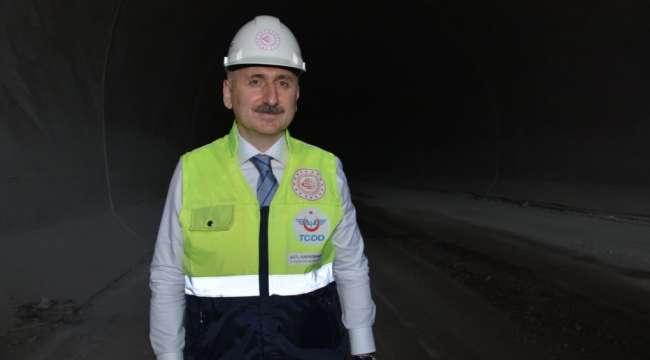 Konya-Karaman hızlı tren hattının yılsonunda açılması planlanıyor