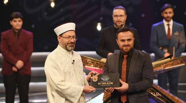 Kur'an-ı Kerim'i Güzel Okuma Yarışması sonuçlandı