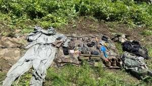 MSB: Irak kuzeyinde PKK'ya ait 4 el bombası ele geçirildi