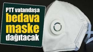PTT ücretsiz maske dağıtımına başladı
