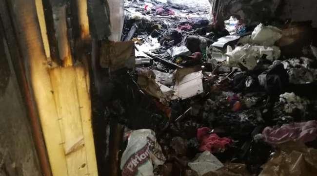 Son Dakika….Afyonkarahisar'da patlayan cep telefonu bir evi kül etti