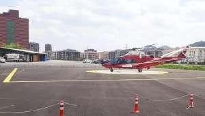 Son Dakika…..Afyonkarahisar'da yaylada kalp krizi geçiren vatandaşa helikopter ambulans gönderildi