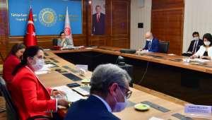 Ticaret Bakanı Pekcan, Rusya Enerji Bakanı Novak ile görüştü