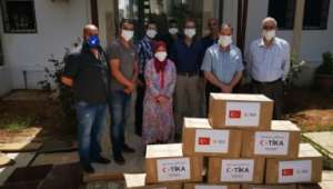 TİKA'dan Koronavirüsle Mücadele Eden Cezayir'e Destek