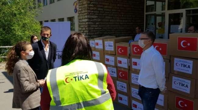 TİKA'dan Macaristan'da Çocuk Merkezine Gıda ve Hijyen Desteği