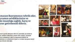 TİKA, Ramazan'da 66 Ülkede Yaklaşık 700 Bin İhtiyaç Sahibine Ulaştı