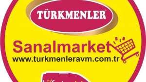 Türkmenler AVM Sanal Market açıldı
