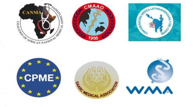 Uluslararası hekim örgütlerinden Dünya Sağlık Örgütü'ne destek çağrısı