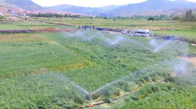 Zaferin Başkenti Afyonkarahisar'da Sulama Sezonu devam ediyor