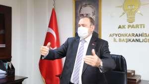 Akpartili Eroğlu : İl başkanımız yatırımlara büyük destek veriyor