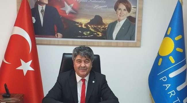 İyi Parti Afyonkarahisar İl Başkanı Mehmet İnkaya : İktidar Bulaşıcı Hastalıkla Mücadelede Başarısız Olmuştur