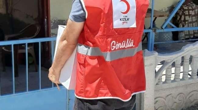 Kızılay Afyonkarahisar'da çalışmaya devam ediyor