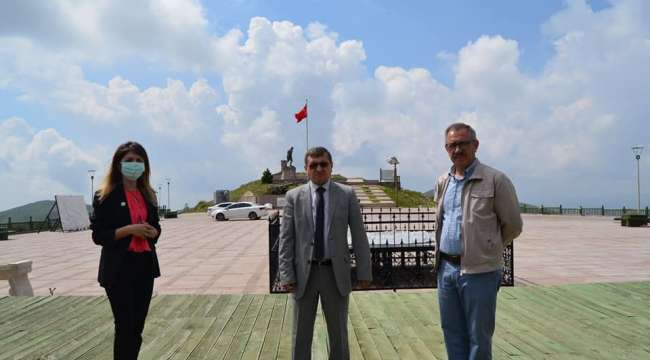 Kocatepe Anıt'ına yapılacak projeler ele alındı