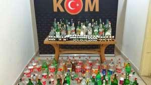 Son Dakika….Afyonkarahisar'da sahte içki üretimi yaparak piyasaya sürenlergözaltına alındı