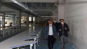 Tekstil Fabrikasında Çalışmalar Tam Gaz