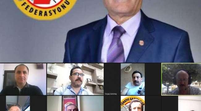 TGF : Zorlu süreçte Anadolu basını başarılı sınav verdi