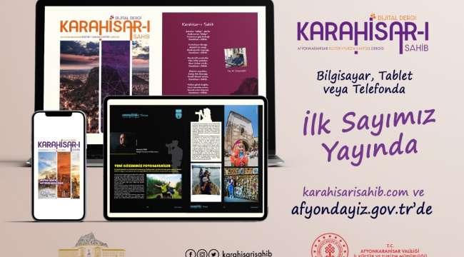 Afyonkarahisar'ın İlk Dijital Dergisi Yayın Hayatına Başladı