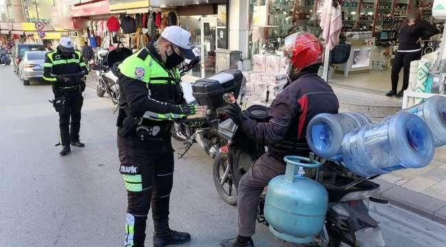 23 binden fazla Motosiklet ve Motorlu Bisiklet Denetlendi