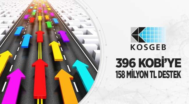 396 Kobi'ye 158 Milyon lira Destek