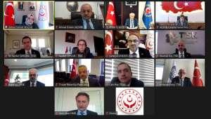 Asgari Ücret Tespit Komisyonu İlk Toplantısını Sanal Ortamda Gerçekleştirdi