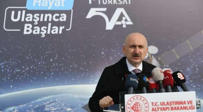 Bakan Karaismailoğlu : Uzayda çok daha güçlü olacağız